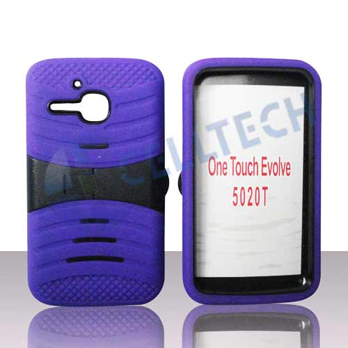 ARMOR WAVE CASE ONE TOUCH EVOLVE ALC5020 PURPLE / BLACK