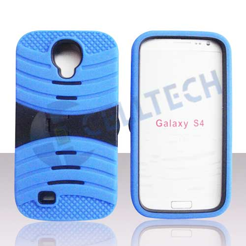 ARMOR WAVE CASE SAMSUNG GALAXY S4 BLUE / BLACK