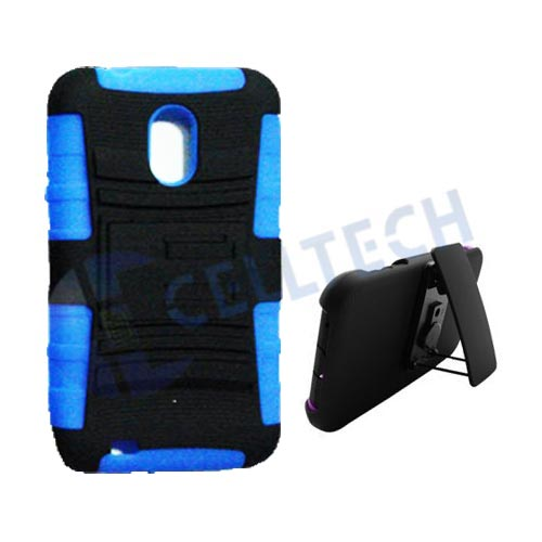 DEFENDER HOLSTER COMBO GALAXY S2 D710 BLUE