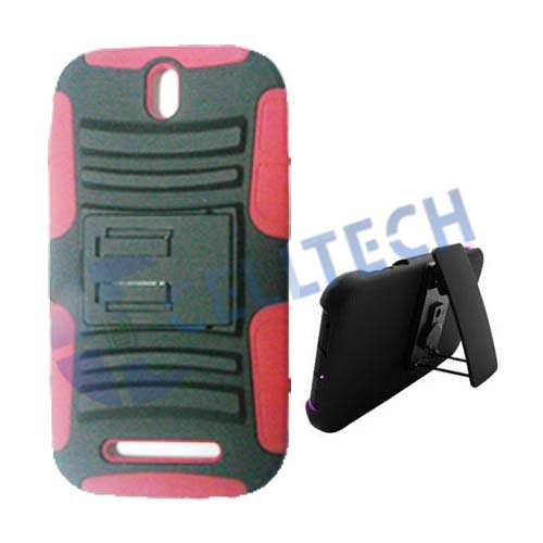 DEFENDER HOLSTER COMBO HTC 1SV RED