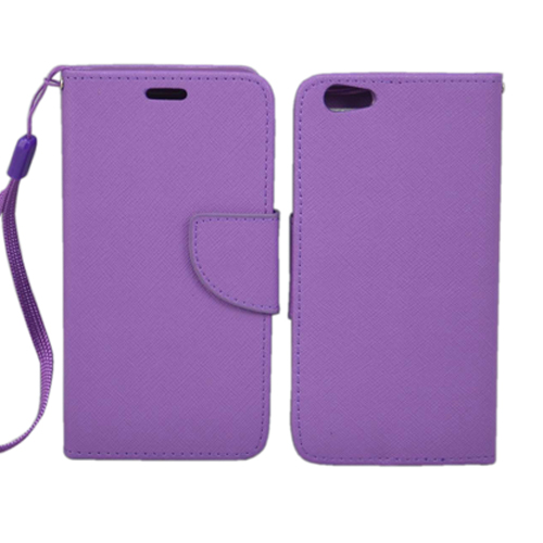 FLIP WALLET CASE IPHONE 6 PURPLE