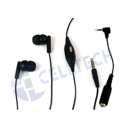 EVOGUE� STEREO HANDSFREE 2.5mm & 3.5mm 5346 BLACK