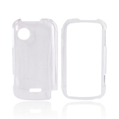 TRANSPARENT SNAP ON CASE COVER FOR HUAWEI M735 CLEAR