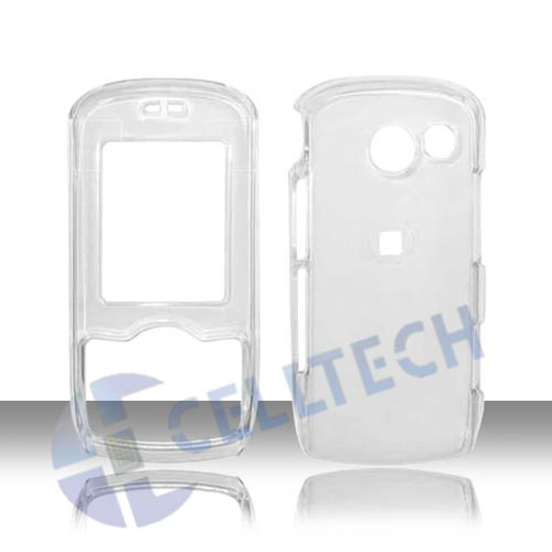 TRANSPARENT SNAP ON LG LYRIC MT-375 CLEAR
