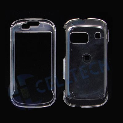 TRANSPARENT SNAP ON CASE FOR SAMSUNG CRAFT R900 CLEAR