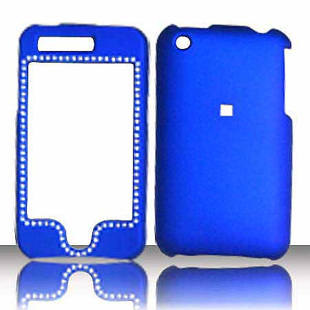 SNAP ON DIAMOND APPLE IPHONE 3G BLUE