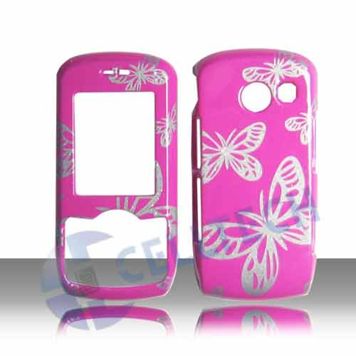 SNAP ON DESIGN COVER FOR LG LYRIC MT375 BUTTERFLY