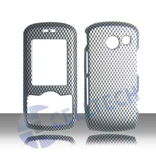 SNAP ON DESIGN COVER FOR LG LYRIC MT375 CARBON FIBER