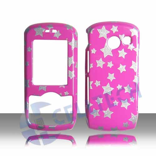 SNAP ON DESIGN COVER FOR LG LYRIC MT375 STARS