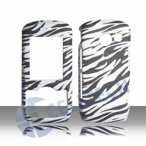SNAP ON DESIGN COVER FOR LG LYRIC MT375 ZEBRA