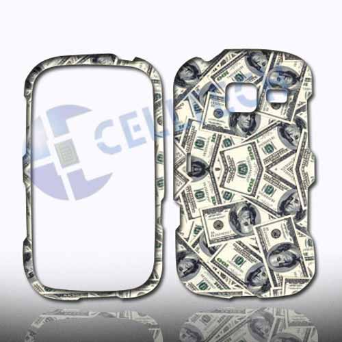 SNAP ON DESIGN SAMSUNG FREEFORM 3 R380 DOLLAR BILLS