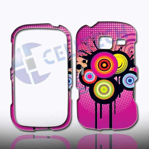 SNAP ON DESIGN SAMSUNG FREEFORM 3 R380 PINK SPLASH