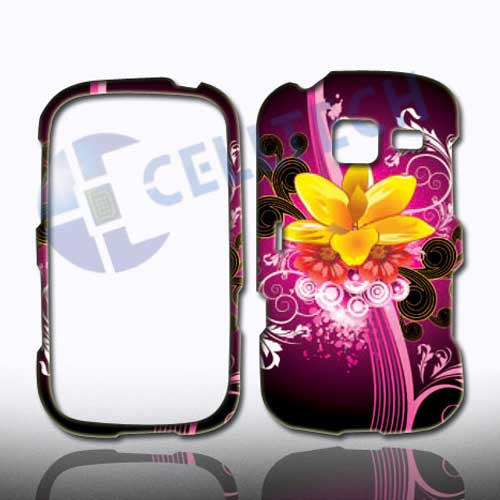SNAP ON DESIGN SAMSUNG FREEFORM 3 R380 YELLOW FLOWER