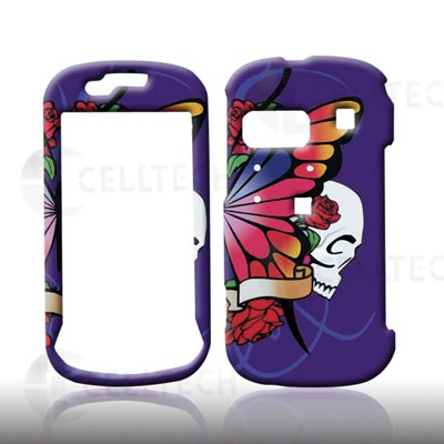 SNAP ON DESIGN SAMSUNG CRAFT R900 BUTTERFLY PURPLE