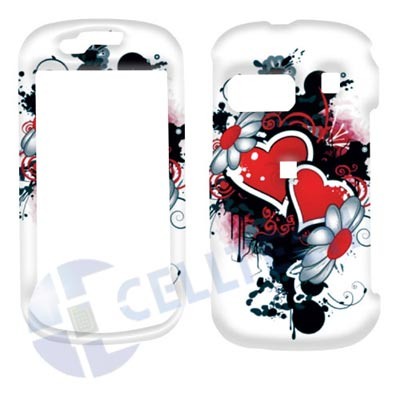 SNAP ON DESIGN SAMSUNG CRAFT R900 HEART WHITE