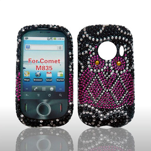 SNAP ON FULL DIAMONDS FOR HUAWEI M835 OWL
