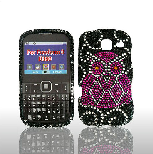SNAP ON FULL DIAMONDS FOR SAMSUNG FREEFORM III R380 OWL
