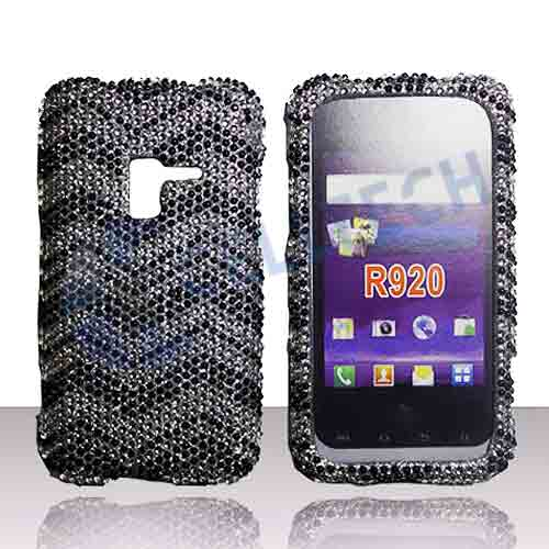 SNAP ON FULL DIAMONDS FOR SAMSUNG ATTAIN R920 ZIG ZAG