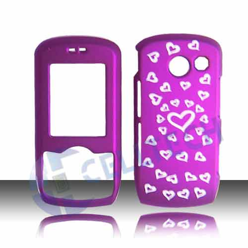SNAP ON DESIGN COVER FOR LG LYRIC MT375 HEARTS