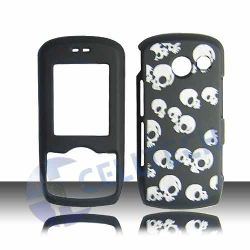 SNAP ON DESIGN COVER FOR LG LYRIC MT375 SKULLS
