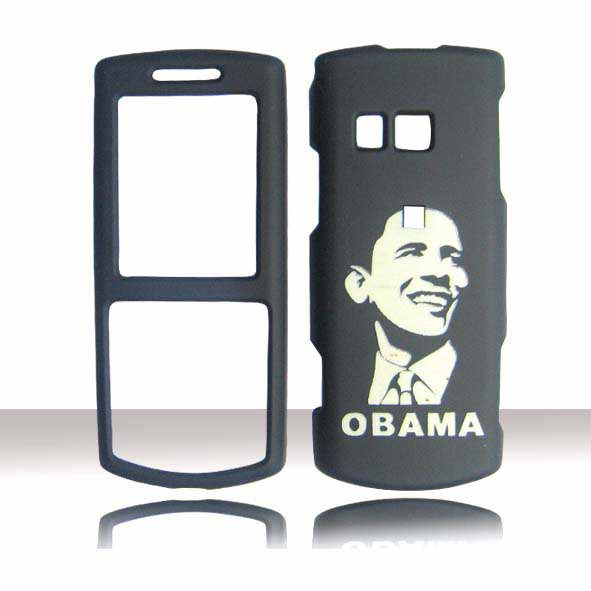 SNAP ON DESIGN CASE SAMSUNG R560 MESSAGER II OBAMA