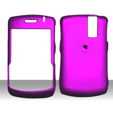 blackberry curve 8530 purple case. RUBBERIZED SNAP ON BLACKBERRY
