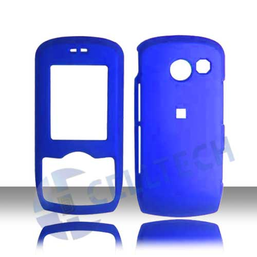 RUBBERIZED SNAP ON LG LYRIC MT-375 BLUE