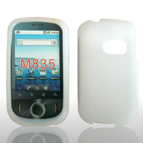 SILICONE CASE HUAWEI M835 CLEAR