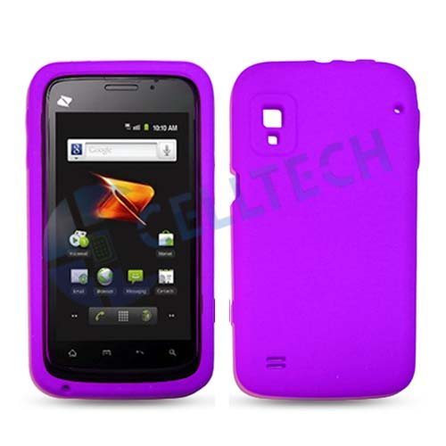 SILICONE CASE FOR ZTE WARP N860 PURPLE