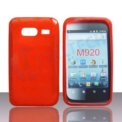 HARD SILICONE CASE FOR HUAWEI ACTIVE M920 RED
